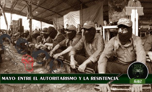 Ανακοίνωση του Ζαπατιστικού Στρατού για την Εθνική Απελευθέρωση (EZLN) ενάντια στη βία, την καταστολή και τον αυταρχισμού του περασμένου μήνα στο Μεξικό και υποστήριξης της αντίστασης και της εξέγερσης του λαού